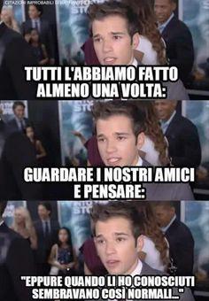 Italian Memes, Teenager Posts, Horoscope, Haha, The Cure, Comedy, Friendship, Life Quotes, Funny Memes