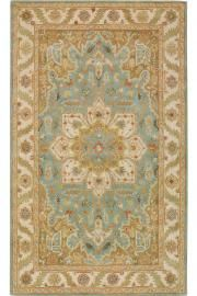 oriental rugs from home decorators.com...love the center motif