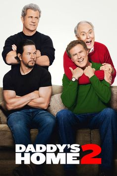 Daddy's Home 2 The peace ends in the new trailer of Daddy's Home 2 (Guerra de papás 2 in Latin America) when Mark Wahlberg and Will Ferrell receive their Home Again parents at home for Christmas. Free Films Online, Hd Movies Online, New Movies, Movies To Watch, 2017 Movies, Will Ferrell, Mark Wahlberg, Hindi Movies, Comedy Movies