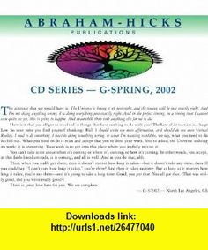 Abraham-Hicks G-Series Cds - G-Series Spring, 2002 Virtual Reality Process Refined (9781935063230) Esther Hicks, Jerry Hicks , ISBN-10: 1935063235  , ISBN-13: 978-1935063230 ,  , tutorials , pdf , ebook , torrent , downloads , rapidshare , filesonic , hotfile , megaupload , fileserve