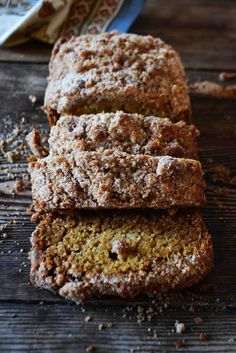 Snickerdoodle Pumpkin Bread. It is time to indulge in pumpkin anything kids:) Enjoy!