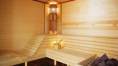 Saunas, Outdoor Sauna, Outdoor Decor, Dry Sauna, Yard Sheds, Sauna Design, Spa Chair, Spa Rooms, Luxury Pools