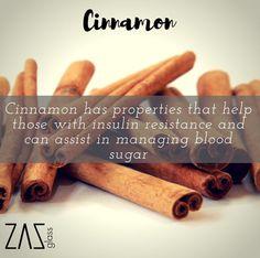 Cinnamon Has great health benefits - visit www.zazglass.com for infused recipes #zazass #diet #health 💪🏻👌🏻💧