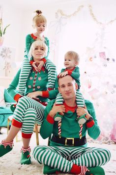 Target's New Family Sleep Sets Are Here to Prove the Holidays Are More Fun in Matching PJs Family Pjs, Matching Family Christmas Pajamas, Cute Family, Matching Family Outfits, Xmas Pictures, Family Christmas Pictures, Xmas Pics, Christmas Pics, Christmas Cards