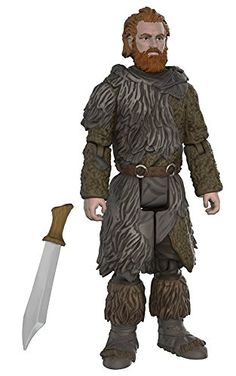 Tormund Giantsbane from Game of Thrones action figure by Funko! Funko's latest figures stand at 3.75' and have five points of articulation! The first wave features Jon Snow Samwell Tarly Ghost Ygri...