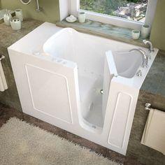 Mountain Home 26x53 Right Drain Air Therapy Walk In Bathtub