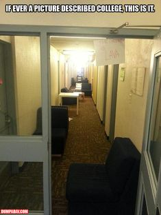 best dorm hall EVER hahaha omg i wanna do this!!!