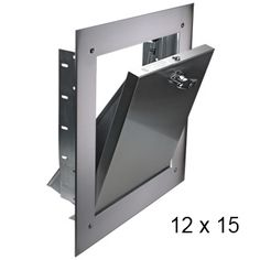 """Laundry shoot door- Fire rated and self latching        12"""" x 15""""(inch) Bottom Hinged (BH) Chute Intake Door"""