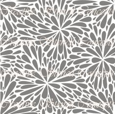 This is a Abstract Floral Seamless Decorative Stencil. It is available in the following sizes:    12 inches 12.5 inches 13 inches 13.5 inches 14