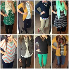 Cute business casual style