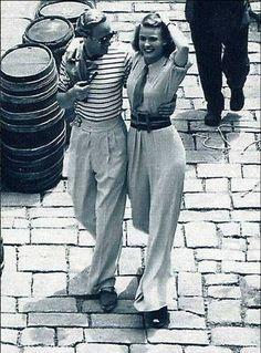 Leslie Howard and Ingrid Bergman 1938 via Philip Bewley