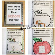 What We've Loved Most About School This Year Class Book
