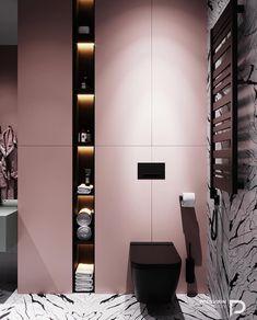 New bath room shower organization design Ideas Modern Bathroom Design, Bathroom Interior Design, Home Interior, Minimal Bathroom, Wc Decoration, Interior Design Themes, Minimalist Room, Decorate Your Room, Bathroom Inspiration