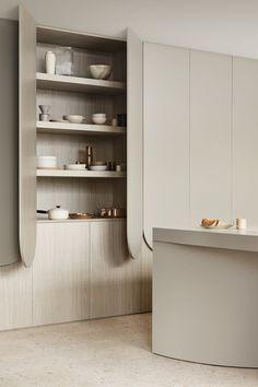 Modern Kitchen Interiors, Modern Interior, Interior Architecture, Pantry Design, Kitchen Design, Interior Design Inspiration, Home Decor Inspiration, Cabinet Furniture, Furniture Design