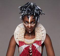 Esta finalista de los Premios British Hair creó un precioso tributo moderno a la cultura africana   Nexofin