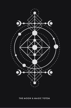 "chaosophia218: ""The Moon and Magic Totem. """