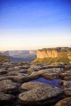 Heart-shaped rock in Chapada Diamantina National Park, Bahia, Brazil