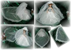 Brautkleid 5 - Handarbeit