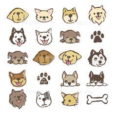 商用利用でも安心。プロが選んだ「犬のイラスト アイコンセット」(41025600)のイラスト素材。ストックフォト・イラスト販売の【イメージナビ】では低価格・高品質のロイヤリティフリー画像素材が購入できます。日本人、女性、シニア、フード、サイエンスから、動画、フォント、レシピまで。無料カンプ・有料カンプが充実。