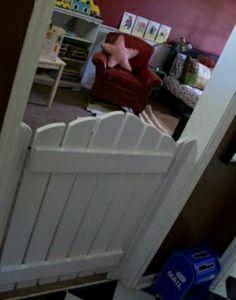 No more door on toddlers room
