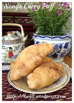 """""""Nonya"""" Curry Puff ?–Flaky or Spiral Curry Puffs(脆皮咖喱卜) #guaishushu #kenneth_goh     #spiral_curry_puffs  #脆皮咖喱卜"""