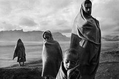 Refugees At The Korem Camp   by Sebastiao Salgado, Ethiopia, c.1984