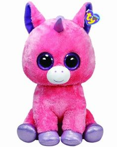Ty Beanie Boos Magic Unicorn Plush, Pink, Large by Ty Beanie Boos,