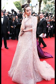 Fan Bingbing in Elie Saab Haute Couture at the 2012 Cannes Film Festival. WOW!