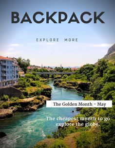 If you get some days or even better, weeks off from work in May, then it is your lucky time. Besides cheaper airfares and lower accommodation costs, I will show you here what the best places to travel to in May are. Get Some, Best Places To Travel, May, The Good Place, To Go, Traveling, Good Things, River, Explore