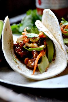 Korean Inspired Tacos - Bakeaholic Mama
