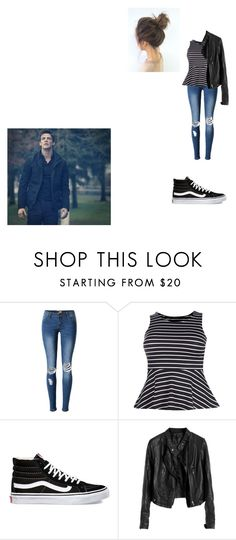 """Alec Chasse - London"" by mercy-xix ❤ liked on Polyvore featuring Boohoo and Vans"