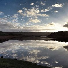 #HOTELS #SWD #GREEN2STAY Phantom Forest Eco Reserve   The view from our new jetty! What a wonderful way to start the day! #phantomforest #phantomforestecoreserve #knysna #landscape #reflections
