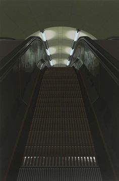 RICHARD ESTES, PICADILLY STATION, 1979