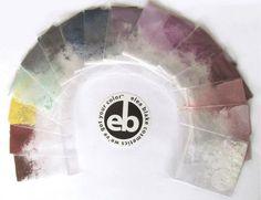 The Dark Winter Eye Shadow Rainbow from Elea Blake Cosmetics