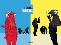 Les Vieux Fourneaux (BD) Illustrations, Reading, Movie Posters, Photos, Comic Books, Comic, Graphic Design, Livres, Drawings
