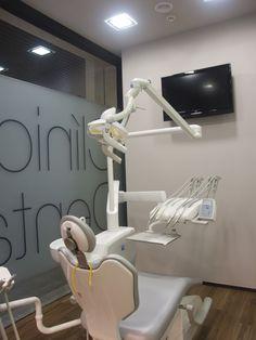 Reforma de Clínica Dental. Gabinete. Proyecto realizado por Javier Yrazu Bajo . Crokis Proyectos. En Lazkao, Guipúzcoa, Spain. +34629447373