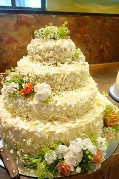Hochzeitstorte schokoraspeln