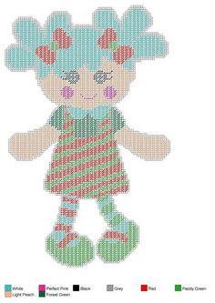 Doll set 5 Plastic Canvas Christmas, Plastic Canvas Crafts, Plastic Canvas Patterns, Valentine Crafts, Valentines, Canvas Designs, Sewing Dolls, Canvas Paper, Canvas Board