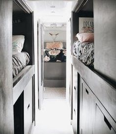 Minimal Converted School Bus Home | Apartment Therapy