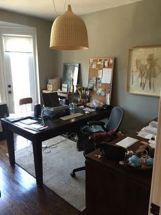 Good clutter Clutter, Office Desk, Corner Desk, Decorating, Inspiration, Furniture, Home Decor, Corner Table, Decor