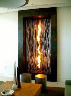 66 Fantastische Feuerstelle Designs Zum Nachbauen. Einfacher Kamin FeuerstellenEuropaletteWohnzimmer IdeenRaumSelber ...