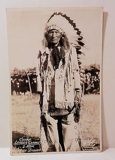 Native American Sioux Chief Leader Charge Rosebud s D