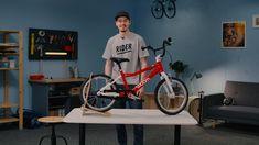 #howto #kettenschutz #woombikes #woom Kids Bike, Cycling Bikes, Bicycle, Gym, Videos, Sports, Hs Sports, Bike, Bicycle Kick