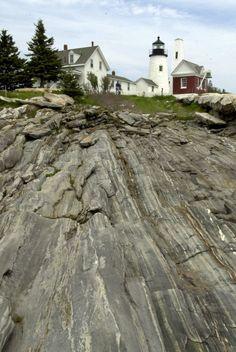 Pemaquid Point Light In Maine