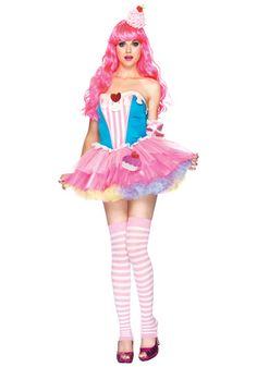 Sugar and Spice Cupcake costume #Halloween #Sexy