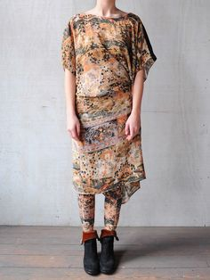 Gary Graham - SHORT TIE DRESS