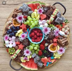 Beautiful Grazing Plate, with Lollies and Chocolate