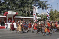 12 Octubre 2017 - Desfile de la Fiesta Nacional - Paseo de la Castellana, Madrid - España.