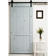 Barn door for bathroom remodel at overstock