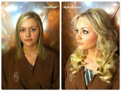 before after hair styles with clip in extensions - Berthe Nic. Clip In Extensions, Balmain Hair Extensions, Before After Hair, Trends, Cute Hairstyles, Salons, Hair Makeup, About Me Blog, Hair Styles